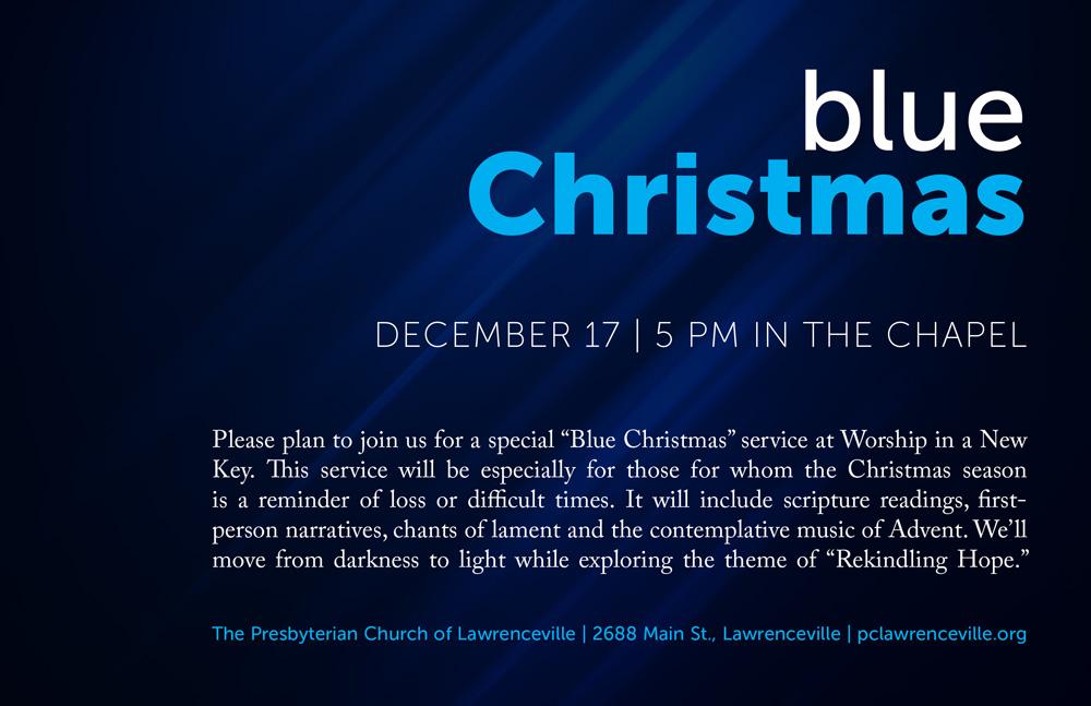 wink blue christmas service december 17 - Blue Christmas Service