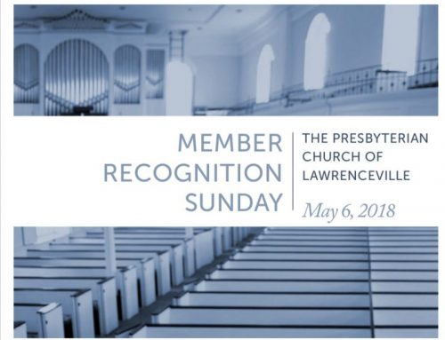 Deacon/Member Recognition Sunday – May 6