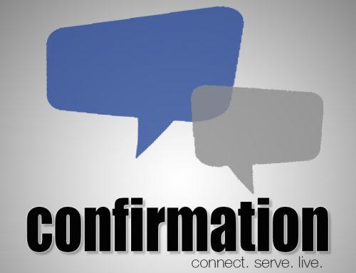Confirmation 2020-2021