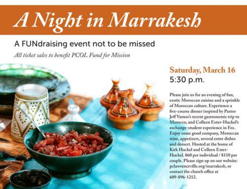 A Night in Marrakesh