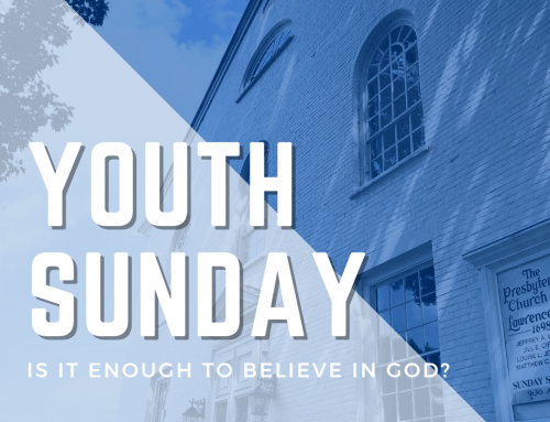 It's Youth Sunday!